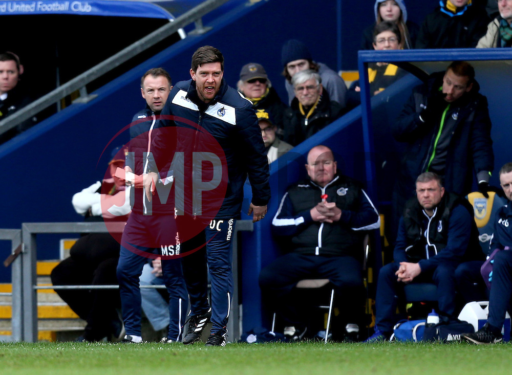 Bristol Rovers manager Darrell Clarke - Mandatory by-line: Robbie Stephenson/JMP - 04/03/2017 - FOOTBALL - Kassam Stadium - Oxford, England - Oxford United v Bristol Rovers - Sky Bet League One