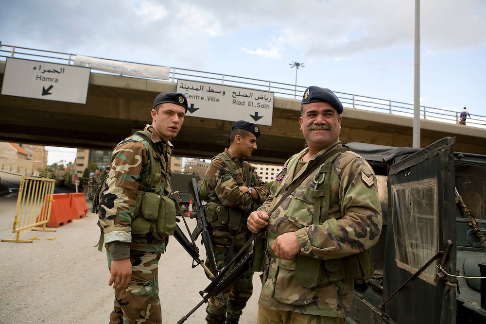 """Thousands of Lebanese soldiers have been called into Beirut to try and keep control of what many are calling """"organized chaos."""""""