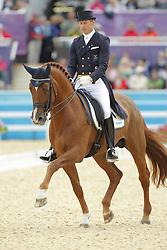 Kittel, Patrik, Scandic<br /> London - Olympische Spiele 2012<br /> <br /> Grand Prix Special, Teamwertung<br /> © www.sportfotos-lafrentz.de/Stefan Lafrentz