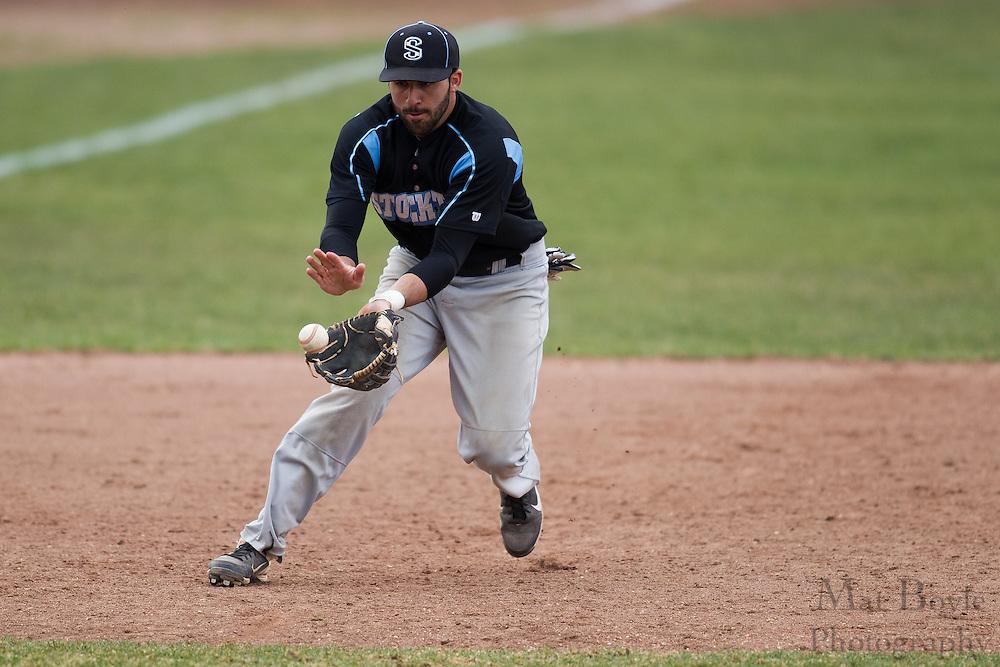 Richard Stockton College Baseball at Rowan University at Rowan University in Glassboro, NJ on Thursday April 4, 2013. (photo / Mat Boyle)