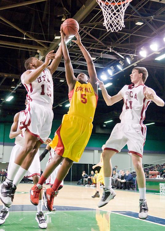 Oak Hill academy's # 5 Jordan Adams