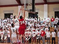 St Paul's School spirit at boys varsity basketball February 15, 2013.  Karen Bobotas for St Paul's School