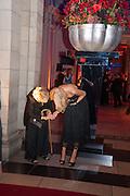 GERALDINE PEACOCK; ORLA COLGAN, Hollywood Costume gala dinner, V and A. London. 16 October 2012