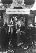 Dowager Empress Cixi (Xiao Qin Cian 1831-1908) from 1861 for nearly 40 years the de facto ruler of China. c1900.