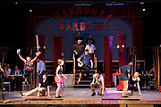 "JULY 8, 2018  LANCASTER, OHIO:<br /> <br /> Actors and actresses reherse a scene during rehearsal practice in ""Hello, Dolly,"" on stage in the Wagner Theater during a rehearsal for the production of ""Hello, Dolly!"" at Ohio University Lancaster."