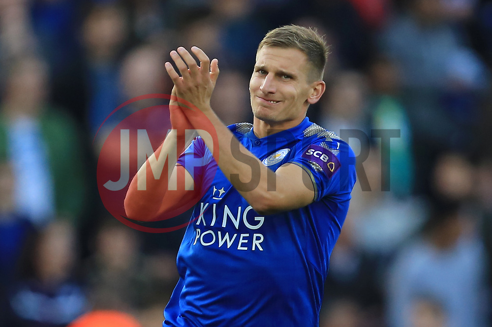 Marc Albrighton of Leicester City - Mandatory by-line: Paul Roberts/JMP - 23/09/2017 - FOOTBALL - King Power Stadium - Leicester, England - Leicester City v Liverpool - Premier League