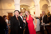 AMANDA ELIASCH, Isabella Blow  by Martina Rink.  Haunch of Venison. London. 13 September 2010., DO NOT ARCHIVE-© Copyright Photograph by Dafydd Jones. 248 Clapham Rd. London SW9 0PZ. Tel 0207 820 0771. www.dafjones.com.