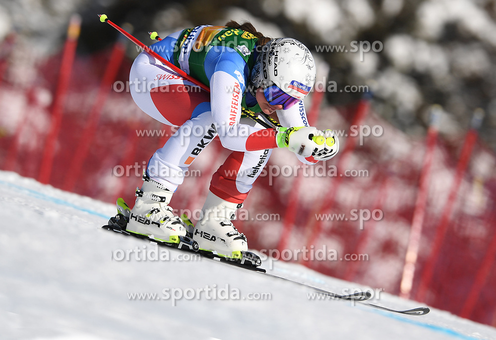 03.12.2017, Lake Louise, CAN, FIS Weltcup Ski Alpin, Lake Louise, Super G, Damen, im Bild Corinne Suter (SUI) // Corinne Suter of Switzerland in action during the ladie's Super G of FIS Ski Alpine World Cup in Lake Louise, Canada on 2017/12/03. EXPA Pictures &copy; 2017, PhotoCredit: EXPA/ SM<br /> <br /> *****ATTENTION - OUT of GER*****