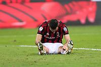 Milano - 28.10.2017 -   Milan-Juventus - Serie A 11a giornata   - nella foto:  Nikola Kalinic si dispera dopo l'occasione sprecata al minuto 45