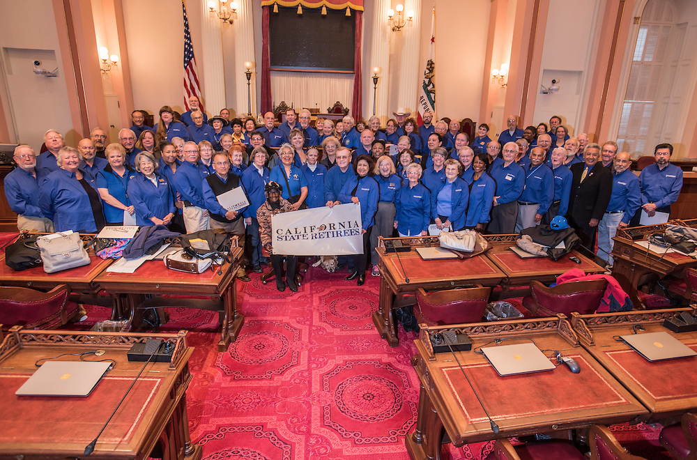 CSR at the State Capitol for Lobby day..