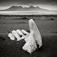 Catch, Laig bay, Isle of Eigg