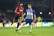 Dale Stephens (6) of Brighton and Hove Albion during the Premier League match between Bournemouth and Brighton and Hove Albion at the Vitality Stadium, Bournemouth, England on 21 January 2020.