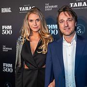 NLD/Amsterdam/20190522 - Uitreiking FHM500 2019, Jrssie Jaz Vuijk en hoofdredacteur Mark Reusen