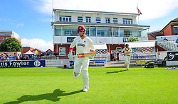 Marcus Trescothick of Somerset walks out to bat.  - Mandatory by-line: Alex Davidson/JMP - 04/08/2016 - CRICKET - The Cooper Associates County Ground - Taunton, United Kingdom - Somerset v Durham - County Championship