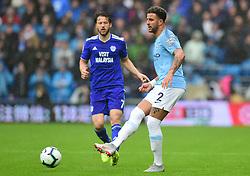 Kyle Walker of Manchester City - Mandatory by-line: Alex James/JMP - 22/09/2018 -  FOOTBALL - Cardiff City Stadium - Cardiff, Wales -  Cardiff City v Manchester City - Premier League
