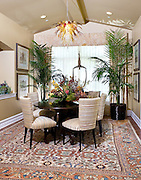 Dining Room In Orange County Model Home