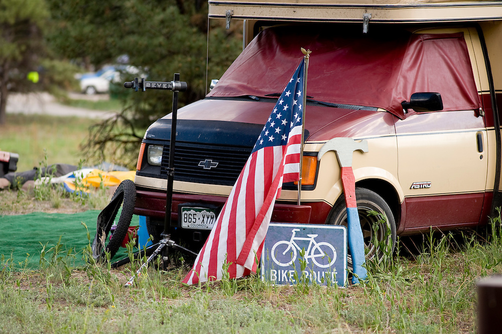 Mountain biking culture was on display throughout the weekend.