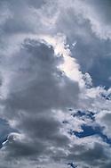 Cumulus clouds Canyonlands National Park UTAH