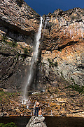 Conceicao do Mato Dentro_MG, Brasil.<br /> <br /> Cachoeira do Tabuleiro no Parque Nacional Serra do Cipo em Conceicao do Mato Dentro, Minas Gerais.<br /> <br /> Tabuleiro waterfall in Serra do Cipo National Park in Conceicao do Mato Dentro, Minas Gerais.<br /> <br /> Foto: LEO DRUMOND / NITRO