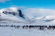 Saltoluokta Mountain Station, Jokkmokk, Lapland, Sweden, March 2013. Arctic survival training and winter bushcraft  in the frigid mountains of the Stora Sjofallet National Park and Sarek National Park with mountain guide Claes Jorgen Pohl.  Photo by Frits Meyst/Adventure4ever.com
