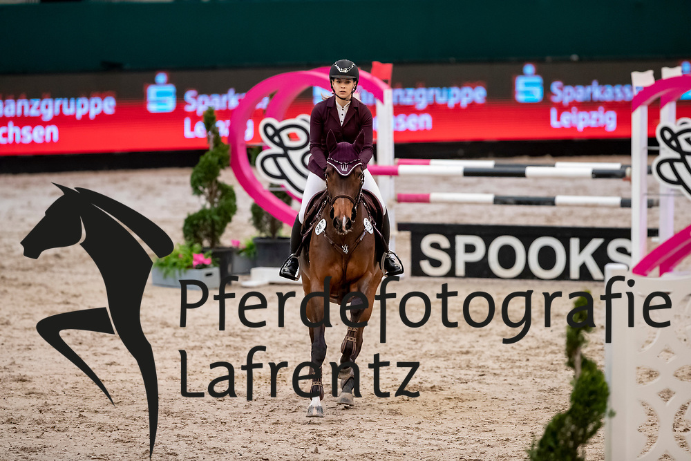 MEYER Saskia (GER), My Holly<br /> Leipzig - Partner Pferd 2019<br /> SPOOKS-Amateur Trophy<br /> Small Tour<br /> 18. Januar 2019<br /> © www.sportfotos-lafrentz.de/Stefan Lafrentz