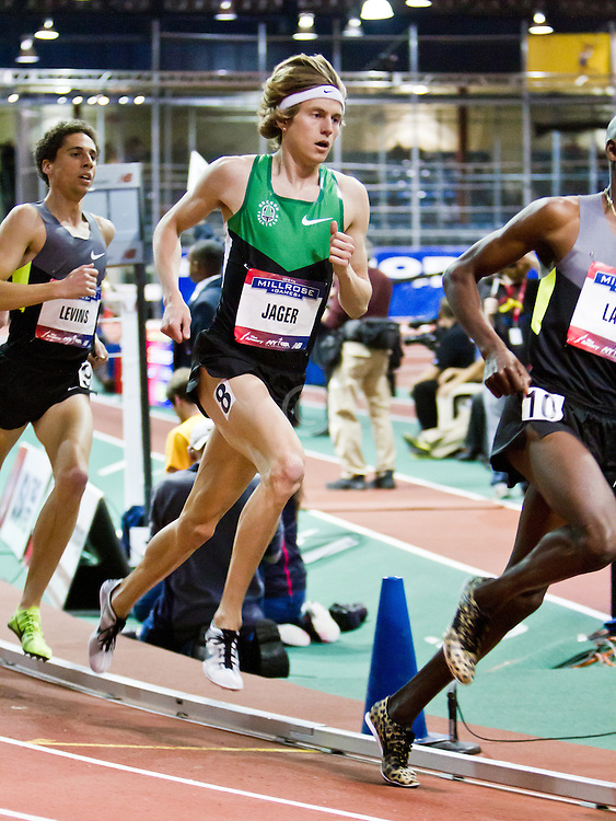 Millrose Games indoor track and field: mens two-mile, Evan Jager, OTC Elite