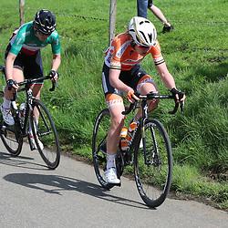 15-04-2018: Wielrennen: Amstel Gold race women: Valkenburg<br />Anna van der Breggen, ELisa Longo Borghini