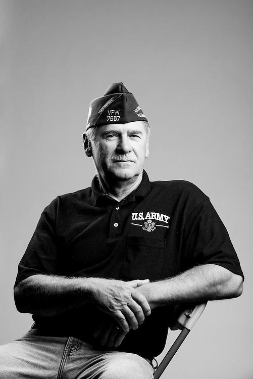 David Czarnecki<br /> Army<br /> E-4<br /> Artilleryman<br /> 1970 - 1972<br /> Vietnam<br /> <br /> Veterans Portrait Project<br /> St. Louis, MO