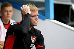 Eddie Howe manager of Bournemouth scratches his head before the preseason friendly against Reading ahead of the Barclays Premier League season - Mandatory by-line: Robbie Stephenson/JMP - 29/07/2016 - FOOTBALL - Madejski Stadium - Reading, England - Reading v AFC Bournemouth - Pre-season friendly