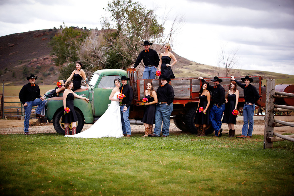 Kami and Alan Wedding at McC Ranch photo by Aspen Photo and Design