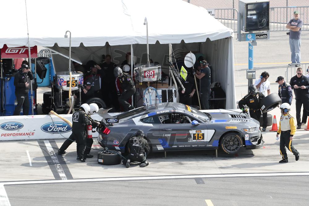 January 27, 2017 - Daytona Beach, Florida, USA:  The Continental SportsCar Challenge Series take to the track for the BMW Endurance Challenge At Daytona at Daytona International Speedway in Daytona Beach, Florida.
