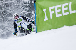 Kano Akira of Japan during Slalom race at 2019 World Para Alpine Skiing Championship, on January 23, 2019 in Kranjska Gora, Slovenia. Photo by Matic Ritonja / Sportida