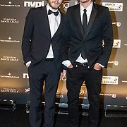 NLD/Amsterdam/20150202 - Edison Awards 2015, Dennis van Leeuwen en ......