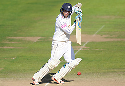 Hampshire's Liam Dawson in action.  - Mandatory byline: Alex Davidson/JMP - 07966386802 - 12/09/2015 - CRICKET - The County Ground -Taunton,England - Somerset CCC v Hampshire CCC - Day 4