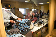 Tucson, Arizona, USA; Jan. 10, 2015; Homeless U.S. military veterans receive medical care, clothing and grooming at the 16th annual Stand Down event hosted by Tucson Veterans Serving Veterans.  The U.S. Department of Housing and Urban Development estimated in January of 2014 that 49,933 American military veterans are homeless.