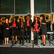 B Positive Choir attend Awareness gala hosted by the Health Committee with live music and poetry performances at City Hall at The Queen's Walk, London, UK. 18 March 2019.