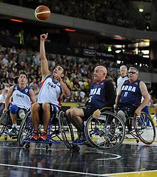 - Photo mandatory by-line: Joe Meredith/JMP - Mobile: 07966 386802 - 13/09/14 - SPORT - FOOTBALL - London - Copper Box Arena - Invictus Games Day 3