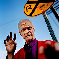 Kim Fowley, Kim Vincent Fowley, American record producer, singer manager and musician<br /> 31 May 2012<br /> <br /> Photograph by Mark Berry/Writer Pictures<br /> <br /> WORLD RIGHTS