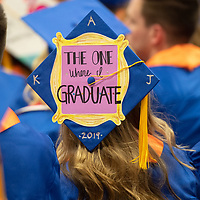 Spring Commencement, afternoon session, by Priscilla Grover