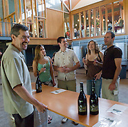 Wine tasting at Penner-Ash, Willamette Valley, Oregon
