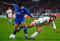 v.l. Glen Johnson, Horst Heldt Stuttgart<br /> Fu§ball Champions League VfB Stuttgart - Chelsea FC