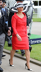 Princess Haya of Jordan at the Epsom Derby in Epsom, England, Saturday 1st June 2013 Picture by Stephen Lock / i-Images