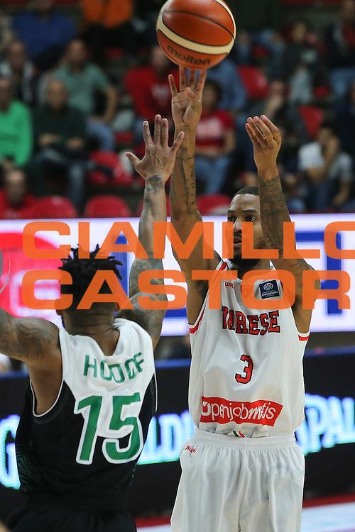 Maynor Eric<br /> Openjobmetis Varese - Asvel Lyon Villeurbanne<br /> Basketball Champions League 2016/2017<br /> Varese 19/10/2016<br /> Foto Ciamillo-Castoria
