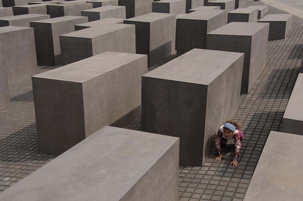 Holocaust Memorial. Berlin, Germany