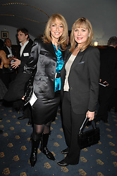 Left to right, actress SHARON MAUGHAN and actress KIM CATTRALL at a gala evening preview of Edward Albee's The Lady from Dubuque in aid of Masterclass at The Theatre Royal, Haymarket, London on 19th March 2007<br /><br />NON EXCLUSIVE - WORLD RIGHTS