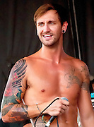 Every Avenue (EA) at the Vans Warped Tour 2011 - Nassau Coliseum, Long Island, New York.  This is David Ryan Strauchman