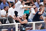 Gutièrrez Jorge delusione, DOLOMITI ENERGIA TRENTINO vs EA7 EMPORIO ARMANI OLIMPIA MILANO, gara 4 Finale Play off Lega Basket Serie A 2017/2018, PalaTrento Trento 11 giugno 2018 - FOTO: Bertani/Ciamillo