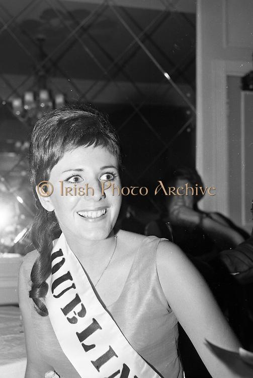 Rose of Tralee Ball at the Gresham Hotel. The Dublin Rose, Rosaleen Kelleher from Raheny..26.04.1967