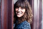 Paris, France. 23 Septembre 2013<br /> La journaliste auteur co-fondatrice de Cheek Magazine Julia Tissier