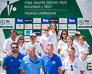 Officials<br /> 23rd FINA Diving Grand Prix 2017 Trofeo UnipolSai<br /> Bolzano ITA<br /> July 05 - 07, 2017<br /> Day02 06-07-2017<br /> Photo Giorgio Perottino/Deepbluemedia/Insidefoto
